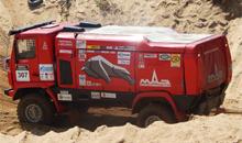 850 лошадей под капотом: прокатимся на гоночном грузовике МАЗ-5309RR