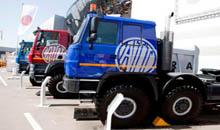 Новые вездеходы Tatra атакуют рынок СНГ