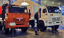 Продажи грузовиков КАМАЗ в РФ за полгода снизились