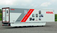 Обновленный полуприцеп Kogel Cool - PurFerro quality показали в Ганновере