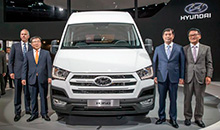 В Ганновере состоялась презентация нового авто Hyundai H350