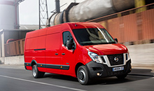 Новое поколение фургонов NV400 представил Nissan