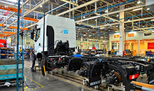 Производство грузовиков в РФ снизилось на 20,4%