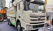 Обзор новинок на Bauma 2014: XCMG представила обновленные грузовики