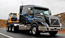 Новую версию тягача VNX 630 представила компания Volvo