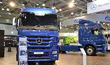 Стильные новинки в духе Mercedes: Actros, Axor и Setra Business