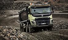 Компания Volvo представила тягач FH16 с прочным бампером