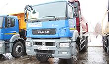 В марте КАМАЗ начнет сборку трех новых моделей