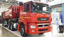 64 тонны и двигатель Mercedes. КАМАЗ представил новинку для стройплощадок