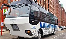 Речные трамвайчики - в прошлом. В Германии появился речной автобус (Видео)