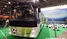 "Газ и электричество: какие новинки представил КАМАЗ на выставке  ""BusWorld Russia"""