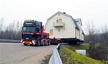 Как перевезти дом? Видеоурок от Scania