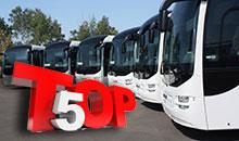 Инфографика. ТОП-5 самых популярных моделей автобусов в ноябре 2016