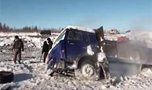 Будни водителей грузовиков на Севере. Подборка видео из Instagram