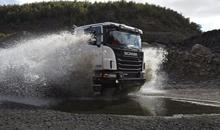 Специалисты протестировали седельный тягач Scania G440 Red Merlot на российских дорогах
