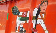 Драконы, тигры, Будда и взгляд Ленина: яркие впечатления о грузовиках Непала