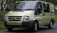 Kombiнация микроавтобуса и грузовика - Ford Transit