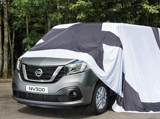 Компания Nissan опубликовала тизер нового NV300