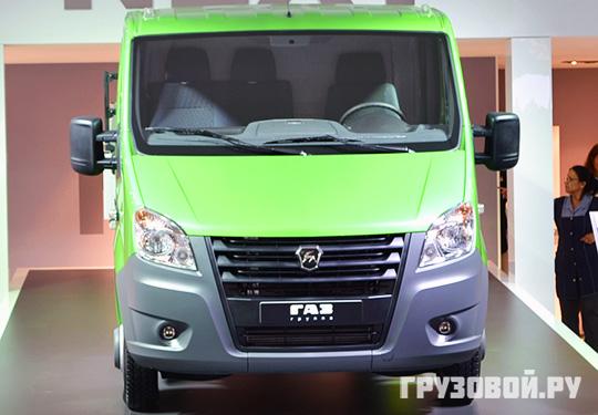 Грузовые фургоны серии Next будут оснащаться битопливными силовыми агрегатами