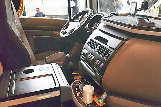 Одним из основных преимуществ грузовиков DAF серии XF являются их комфортабельные кабины