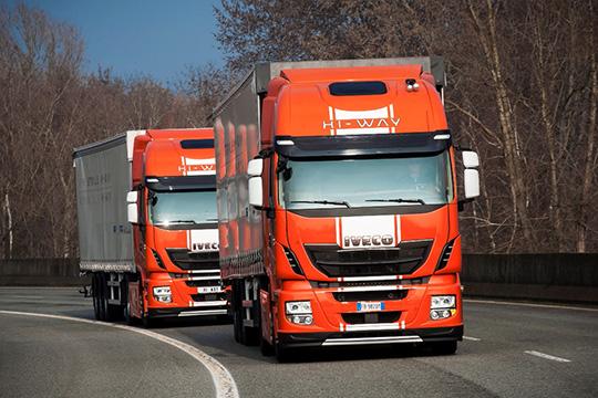Беспилотные грузовики Iveco Stralis Hi-Way