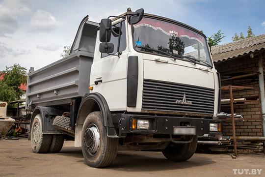 МАЗ-5551-02 - один из самых удачных в линейке грузовиков
