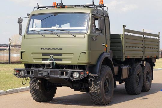 Беспилотный КАМАЗ-5250