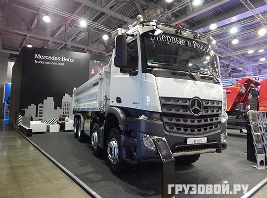 """""""Без прорывных новинок сегодня нельзя"""". Mercedes на СТТ-2016"""