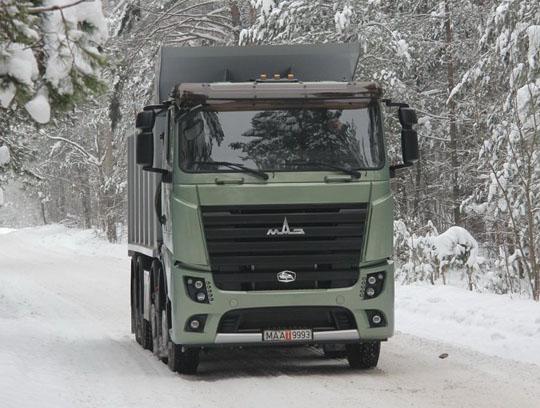 МАЗ начнет выпускать грузовики с интеллектуальной системой