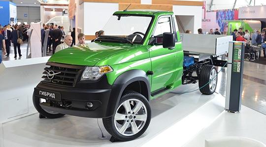 Новый грузовой джип  УАЗ Профи представлен официально