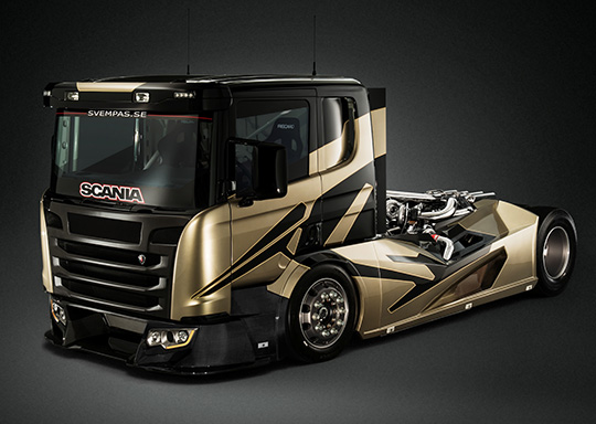 "������������� ����������� �������� Scania Chimera ����� ����������� �� ""��������-2015"""