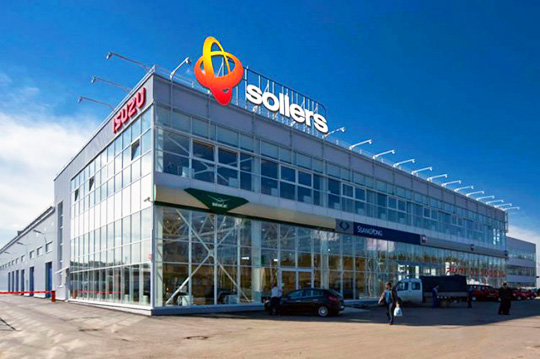 ���� �������� �������� LCV �������� Sollers ����� �� ������� ��