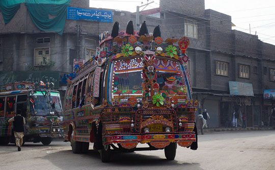 Грузовики в Пакистане