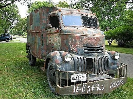 Самый страшный грузовик призрак