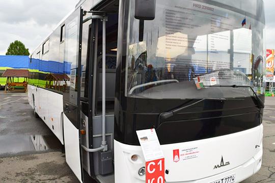 Белорусский МАЗ-231062 для городских маршрутов