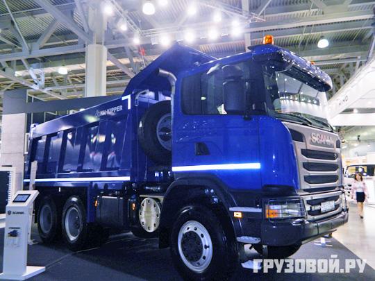 Нам не страшен арктический холод! Грузовики Scania на СТТ-2014