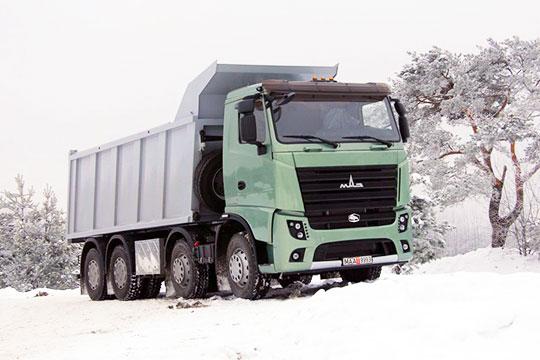 Самосвал полной массой 41 тонна также планируют поставлять на европейский рынок