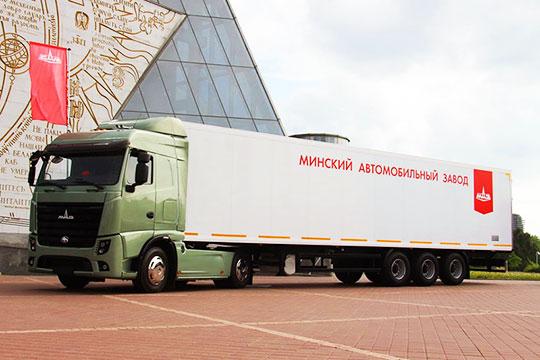 Новинка для Европы - магистральный тягач МАЗ-5440М9