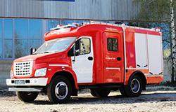 Пожарная автоцистерна на базе шасси ГАЗон NEXT