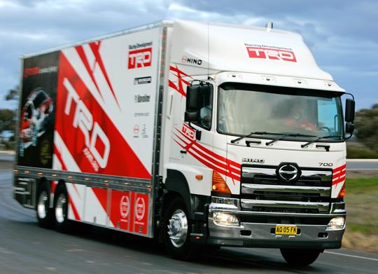 Серия тяжелых грузовиков HINO 700 прошла адаптацию под авторынок РФ