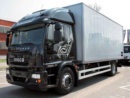 Среднетоннажные грузовики - самые популярные среди всей продукции Iveco