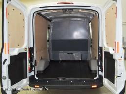 Форд транзит грузовой фургон с трансформацией в грузопассажирский